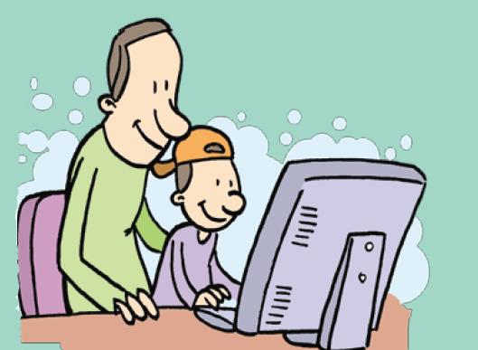 Incentive a criança a compartilhar experiências com você