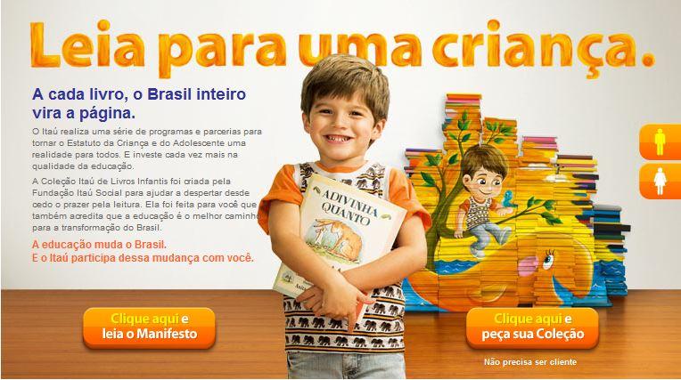Projeto: Leia para uma criança