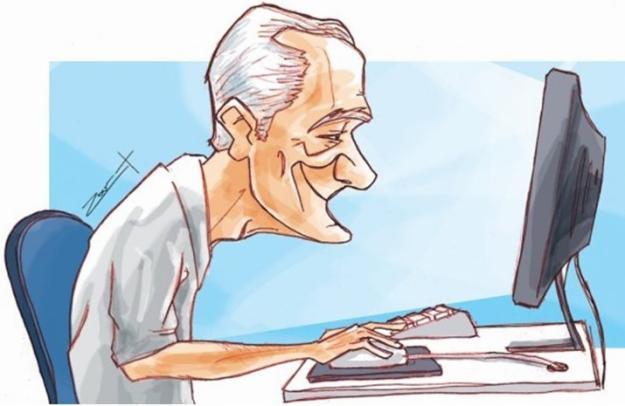 Computador ajuda a preservar memória e raciocínio de idosos