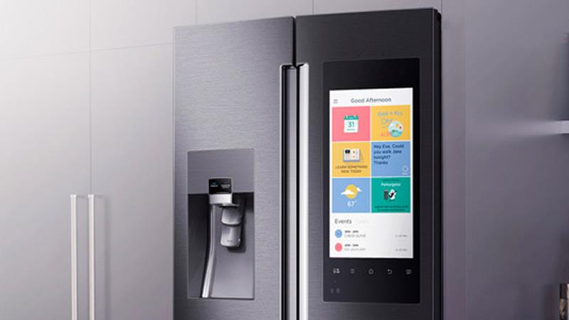 Samsung lança geladeira inteligente