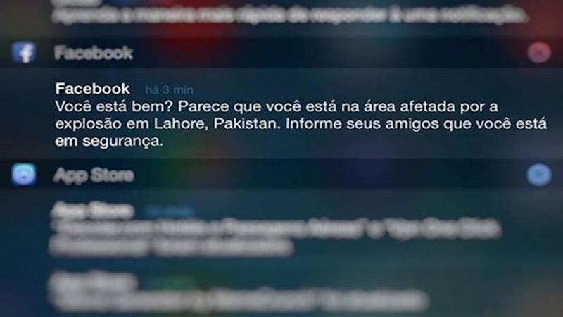 Facebook ativou Status de Segurança no Brasil
